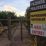 PENÍNSULA DE MARAÚ: EMPRESÁRIO FECHA ESTRADA DE ACESSO À PRAIA DO  PIRACANGA