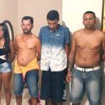 QUADRILHA É PRESA QUANDO SE PREPARAVA PARA SEQUESTRAR GERENTE DE BANCO