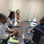 EM AUDIÊNCIA NO DNIT PREFEITA DE MARAÚ COBRA RECUPERAÇÃO DA BR-030; JAZIDA FOI LIBERADA