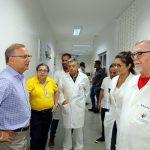 SECRETÁRIO DA SAÚDE DO ESTADO INSPECIONA HOSPITAIS DURANTE O CARNAVAL