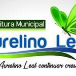 PREFEITURA MUNICIPAL DE AURELINO LEAL:  AVISO DE LICITAÇÃO  Nº 009/2019
