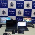 POLÍCIA CIVIL CUMPRE MANDADOS CONTRA SUSPEITO DE AMEAÇAS DE ATAQUE À UESC