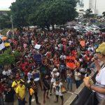EM GREVE, PROFESSORES DE UNIVERSIDADES ESTADUAIS REALIZAM PROTESTO EM SALVADOR