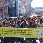 PASSEATA MOBILIZA PROTEÇÃO A CRIANÇAS E ADOLESCENTES CONTRA EXPLORAÇÃO SEXUAL