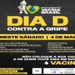 ITACARÉ REALIZARÁ NESTE SÁBADO DIA D DE VACINAÇÃO CONTRA GRIPE