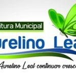 PREFEITURA MUNICIPAL DE AURELINO LEAL  AVISO DE   LICITAÇÃO Nº 015/2019