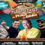 6ª EDIÇÃO DO FORRÓ DA PRAÇA DA  BÍBLIA COMEÇA NESTA SEXTA-FEIRA
