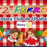 UBAITABA: FORRÓ DO ROTARY ANUNCIA DUAS BANDAS NESSE DOMINGO 16