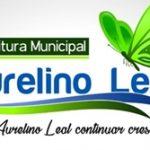 PREFEITURA MUNICIPAL DE AURELINO LEAL  AVISO DE LICITAÇÃO – REABERTURA  LICITAÇÃO Nº 011/2019