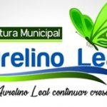PREFEITURA MUNICIPAL DE AURELINO LEAL AVISO DE LICITAÇÃO Nº 021/2019