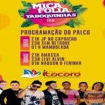 MICARETA DE TABOQUINHAS COMEÇA NESTA 6ª FEIRA COM BLOCOS E GRANDES ATRAÇÕES