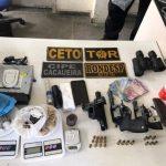 POLÍCIA PRENDE MEMBROS DE QUADRILHA QUE PLANEJAVA ATAQUE A RIVAIS EM ITABUNA