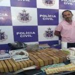 ITABUNA: TRAFICANTE E FLAGRADO COM 50 QUILOS DE DROGAS NO BAIRRO CASTALHA