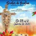 DISTRITO DE ÁGUA FRIA COMEMORA ATÉ DIA 12 A FESTA DE SENHOR DO BONFIM