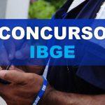 CONCURSO DO IBGE 2020: EDITAIS DIVULGADOS COM 2.658  VAGAS PARA TODO BRASIL