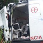AURELINO LEAL: COLISÃO ENTRE AMBULÂNCIA E CARRETA DEIXA TRÊS MORTOS  E DOIS FERIDOS