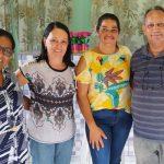 MARAÚ:  PREFEITA GRACINHA VIANA E MANASSÉS PARTICIPAM DE REUNIÃO NA ASSOCIAÇÃO DO BREJO MOLE