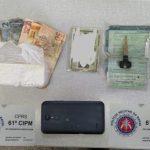 UBATÃ: 61ª CIPM REALIZA APREENSÃO DE DROGAS