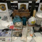 POLÍCIA APREENDE R$ 1,2 MILHÃO EM COCAÍNA NUMA CASA DE LUXO EM EUNÁPOLIS