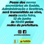 ITABUNA: TRÊS NOVOS SECRETÁRIOS FORAM  EMPOSSADOS NESTA SEXTA- FEIRA (12)
