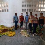 MARAÚ: PRODUTORES DA AGRICULTURA  FAMILIAR DOAM  800 KG DE ALIMENTOS PARA MORADORES DE TAIPU DE DENTRO