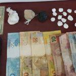 UBAITABA : 61ª CIPM REALIZA PRISÃO EM FLAGRANTE POR TRÁFICO DE DROGAS. 