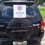 ITABUNA: ECO SPORT ROUBADO É RECUPERADO NA ROÇA DO POVO