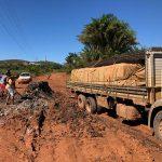 PENÍNSULA DE MÁRAÚ : ATOLEIROS N BR-030  CAUSA TRANSTORNO AOS MOTORISTAS