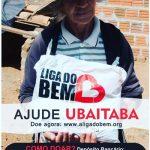 """ONG """"LIGA  DO BEM""""  PRETENDE DISTRIBUIR 800 CESTAS BÁSICAS  EM UBAITABA"""