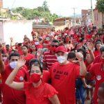UBAITABA: CANDIDATOS DEMONSTRAM  FORÇAS EM  PASSEATAS E CARREATAS