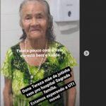 MÃE DE JOTINHA É DIAGNOSTICADA COM PNEUMONIA E SERÁ TRANSFERIDA PARA SALVADOR