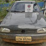 UBAITABA: 61ª CIPM RECUPERA VEÍCULO ROUBADO NO BAIRRO RUINHA
