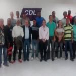 CDL DE UBAITABA E AURELINO LEAL GARANTE APOIO AO CANDIDATO CHARLES GUSMÃO