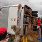VALENÇA:  DUAS PESSOAS MORREM EM ACIDENTE NA MADRUGA DESTE DOMINGO