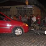UBAITABA: MOTOCICLISTA É ATROPELADO NO CENTRO DA CIDADE