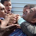 VEREADOR É  RETIRADO À FORÇA DE PALANQUE  DE RUI COSTA