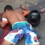 UBAITABA: JOVEM  MORRE  APÓS BATER MOTO EM FIAT NA ESTRADA DE FAISQUEIRA