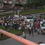 UBAITABA: MANIFESTAÇÃO NA BR-101 PARA COBRAR RECUPERAÇÃO DE PASSARELA FOI ADIADA