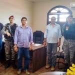 FORÇA NACIONAL VISITA ITACARÉ PARA DEFINIR TRAJETO DA TOCHA OLÍMPICA