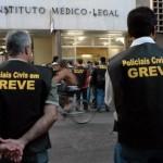 POLICIAIS CIVIS DA BAHIA CRUZAM OS BRAÇOS EM MARÇO