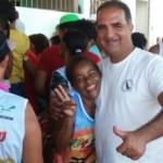 """AURELINO LEAL: PRÉ-CANDIDATO A PREFEITO DE UBAITABA MARCOU PRESENÇA NO """"104 folia"""""""