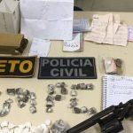 OPERAÇÃO HENA CAPTURA DOIS TRAFICANTES EM  ITACARÉ, APREENDE ARMAS E DROGAS; O TERCEIRO MORREU EM CONFRONTO