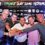 MUNDIAL DE SURF E ITACARÉ SOUND FESTIVAL  ACONTECERÃO NOS DIAS 26 E 29 DE OUTUBRO