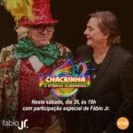 FÁBIO JR. PARTICIPA DO ESPECIAL 'CHACRINHA, O ETERNO GUERREIRO' NESTE SÁBADO (26)