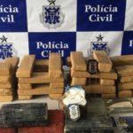 OPERAÇÃO APREENDE DROGA E MÁSCARAS DE TERROR EM DEPÓSITO USADO PARA TRÁFICO