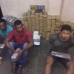 UBAITABA: POLÍCIA PRENDE TRAFICANTES COM 300 KG DE MACONHA E 03 KG DE PASTA BASE DE COCAÍNA