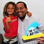 ATLETA DE 06 ANOS DE ITACARÉ PARTICIPA DO BRASILEIRO DE  STAND UPSUP e SURF