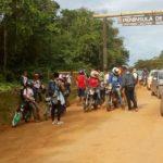 MARAÚ: POLÍCIA MILITAR APREENDE DIVERSAS MOTOCICLETAS NO POSTO POLICIAL DO CAUBÍ