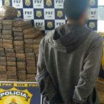 HOMEM É PRESO POR TRANSPORTAR  100 KG DE MACONHA DENTRO DE ÔNIBUS