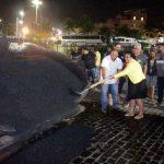 UBAITABA: OBRAS DE ASFALTAMENTO FORAM INICIADAS NA AVENIDA VASCO NETO